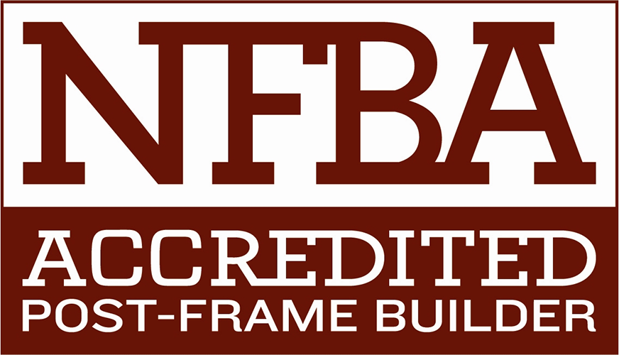 NFBA Accredited Post-Frame Builder logo