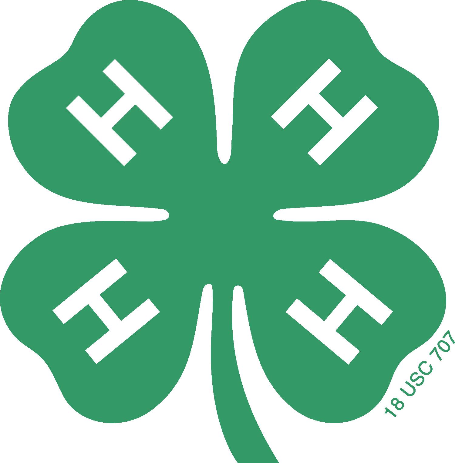 four leaf clover shaped logo